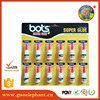 all kinds glue Guo elephant 12 pcs high Viscosity 502 superglue Adhesive Glue