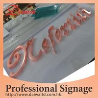 Workshop Metal Solid Letters signage
