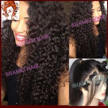 2015 New Products Wholesale glueless lace wig Thin Skin Curly Afro Wigs For Black Women