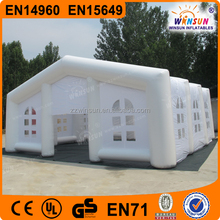 Air portable temporary structures dome giant inflatable buildings