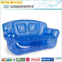 The Newest professional semi-transparent inflatable air sofa