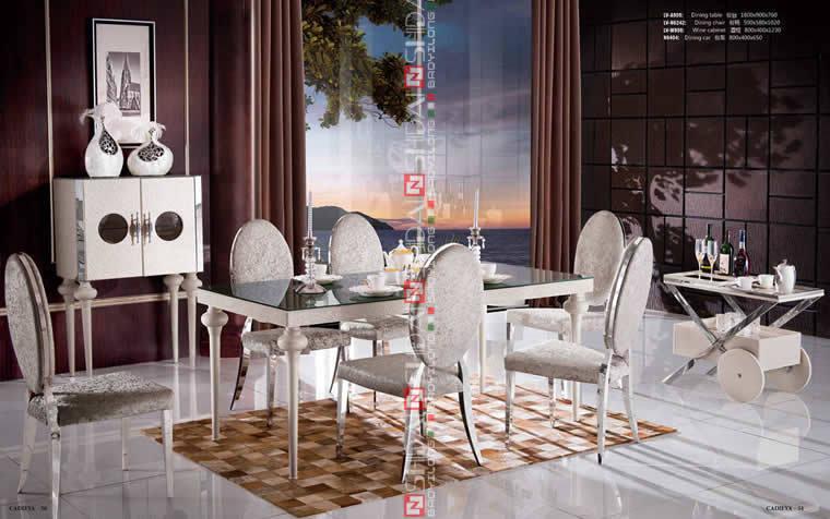Muebles mesa comedor, bases para el vidrio comedor tops, mesa de ...