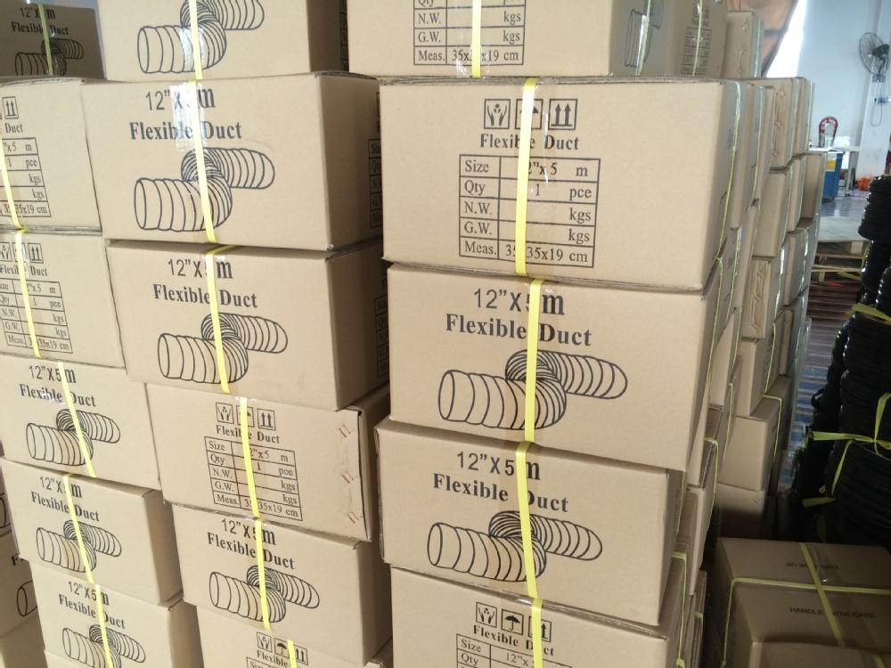 Pvc bianco tubo di canalizzazione per aria condizionata - Canalizzazione aria condizionata ...