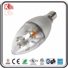 Small led candle light, 5w led candle lamp e14 dimmable