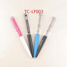 fashion cartoon promotional plastic christmas children gift ball point pen promotional liquid ballpoint pen