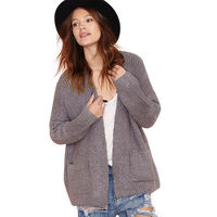 fashion loose thick cardigan sweaters for women for wholesale haoduoyi