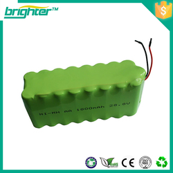 AA LR06 1.2V NI-MH rechargeable battery CELL/RC MP3 2A BTY Green