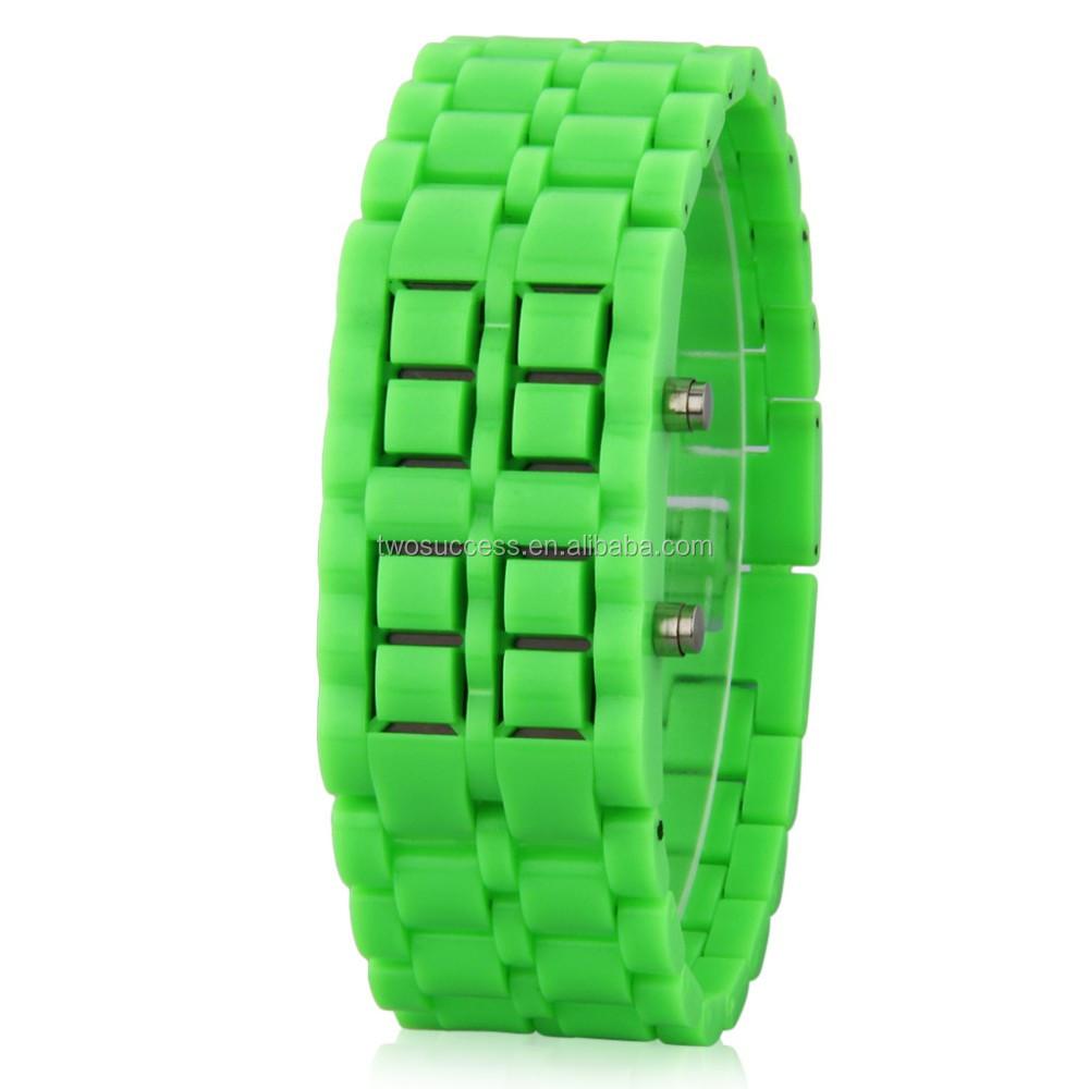 Lava LED chain watch (6)