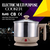 CE CB Approved SUS 304 Small Electric Cooker/Slow cooker 110V/220V 600W