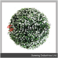wholesale artificial topiary grass ball for decoration