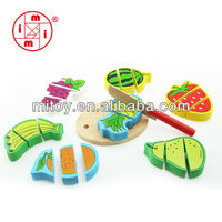 Fruit wooden puzzle toy manufacturer in China