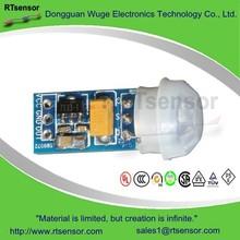 WUGE Best Selling PIR Motion Sensor Module SB0072