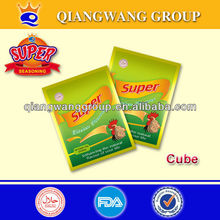 FOR BRAZIL,CHILE,GUYANA 4G/CUBE*50*48 SUPER HALAL CHICKEN CUBE BOUILLON CUBE BRANDS SEASONING CUBE STOCK CUBE SOUP CUBE