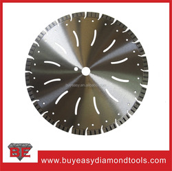 Dry cutting 350mm new design diamond blade for professional market