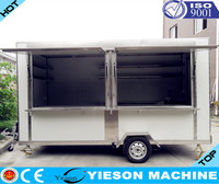 food catering cart camper van