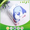 fully cotton customized lovely dog pattern gauze face towels