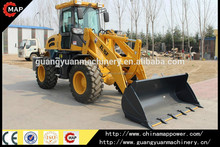 1.6T ZL16F CE Certified wheel loader , snow cleaning machine