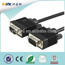 High quality VGA cable resolution for monitor computer HDTV with factory price