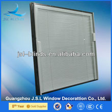 J.S.L High Quality Environmental Windows with internal mini blinds for home/hotel decoration