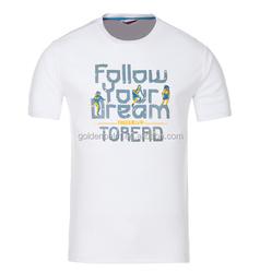 100% Cotton T-Shirt Led T-Shirt Printing T-Shirt
