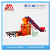Profitable business QTJ4-26 automatic cement hollow block machine production line fly ash interlocking block plant