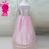 2015 Wholesale New Design Pink Sequins Girls Party Dress Evening Dresss Fashion Kids Party Wear Girl Dress