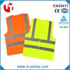 CE EN471 high visibility reflective safety traffic vest warning workwear work vest