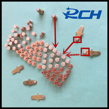 Low price Electrical Silver Contact Points and agsno2 silver alloy wire for wall switch