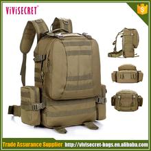 Custom soft nylon military wholesale satchel bag backpack
