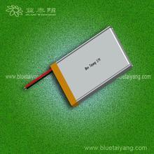 3.7v 900mah li-ion battery 1160mAh with 703350