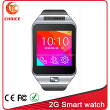 2015 Bluetooth smart new model watch mobile phone with touch screen