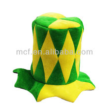 MCH-0025 Party World Cup Funny Brazil Football Match Fans Hat Supporter Top Hat