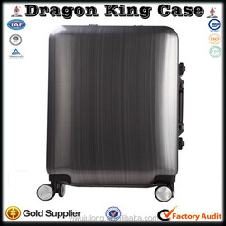 Brand new aluminum framed trolley travel luggage with higher quality