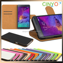 for samsung galaxy note 5 flip case with credit cards slots, china supplier pu leather flip case cover for samsung galaxy note 5