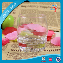 80ml machine blow thin clear round shot glass italianstyle french glassware