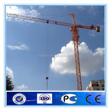 QTZ80 tower crane with telescopic cage from China