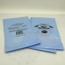 laminated plastic multiple layer printed pouch bags for salt