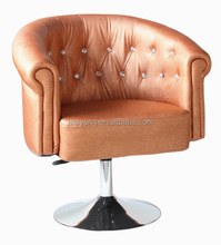 Leisure chairs/modern chair with round base/simple chair designs-k203