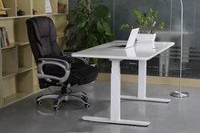 USA market Wholesale electric height adjustable desk frame with DIY desktop