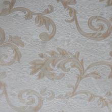 Modern hot sell manufacturer polyester plain jacquard curtain fabric