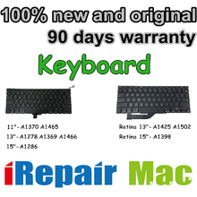 Keyboards for Macbook Pro Air Retina A1278 A1286 A1369 A1370 A1398 A1425 A1465 A1466 A1502