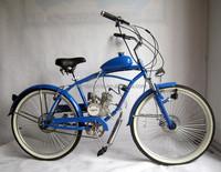 Wholesale 26 inch cheap 2-stroke 50cc beach style gas engine motorized bikes