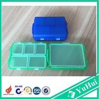 Plastic metal pill box/pill case for travel