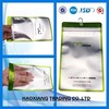 Professional design top processed plastic bag with hook