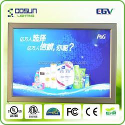 Newest a0 a1a2 a3 a4 crystal acrylic led poster frame light box frame