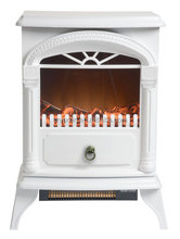classic portable indoor fireplace with remote control, decor fireplace