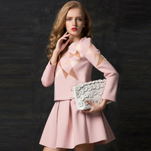 China supplier Newbest air layer fabric long sleeve clothes wholesale fashion embroidered tops