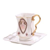 Wholesale antique modern design ceramic tea cup and saucer sets