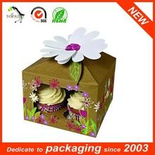 Sweet cake box paper cup cake box mini Size printing