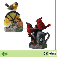 2015 new items polyresin animals bird decoration